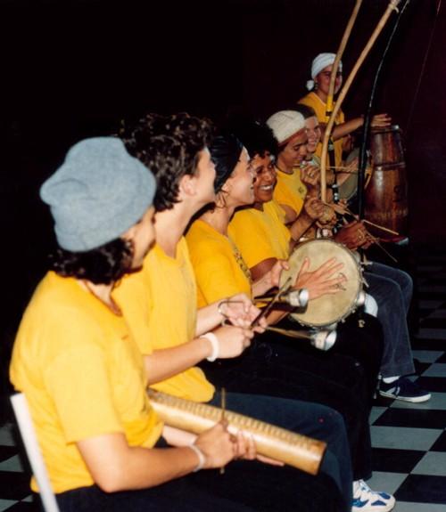 capoeira angola - bateria